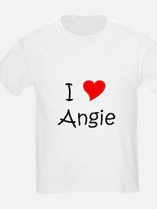 Cute I heart angie T-Shirt