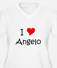 Cute I love angelo T-Shirt