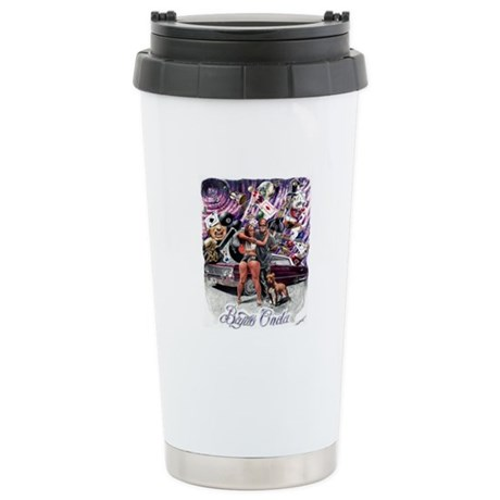 BARRIO LIFE BY TORRES Stainless Steel Travel Mug