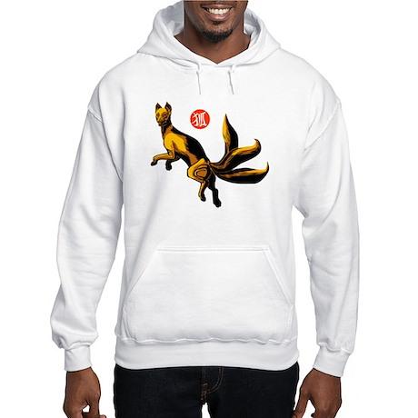 Hooded Kitsune Sweatshirt