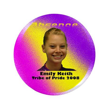 """Emily Keith 3.5"""" Button"""