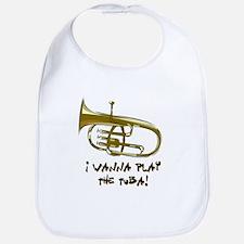 Wanna Play Tuba Bib