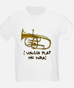 Wanna Play Tuba T-Shirt