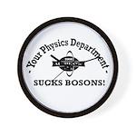 Your Physics Department Sucks Wall Clock