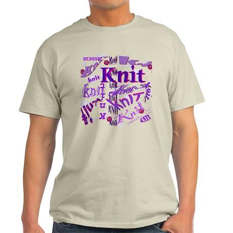 Knit Purple Light T-Shirt