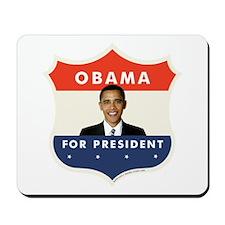 JFK-Obama Shield 051 Mousepad