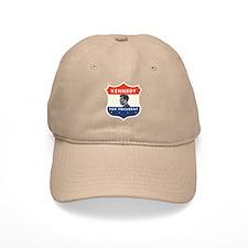 John F. Kennedy Shield 53 Baseball Cap