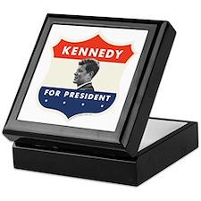 John F. Kennedy Shield 53 Keepsake Box