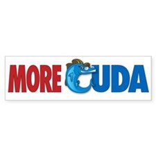 More Cuda Bumper Bumper Sticker