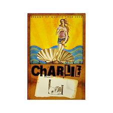 casanova charlie Rectangle Magnet