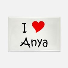 Cool Anya Rectangle Magnet