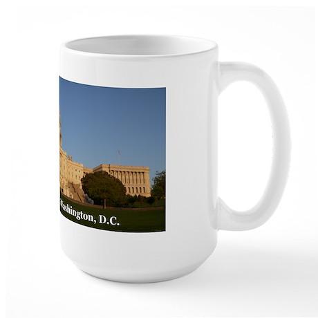 Capital Building Panorama Large Mug