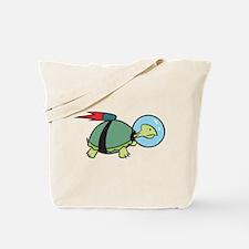 Space Turtle Tote Bag