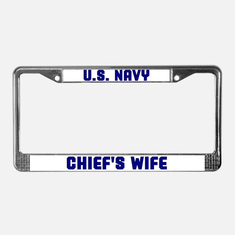 Cute Wife License Plate Frame