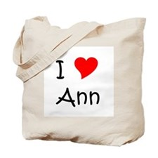 Cute Ann Tote Bag