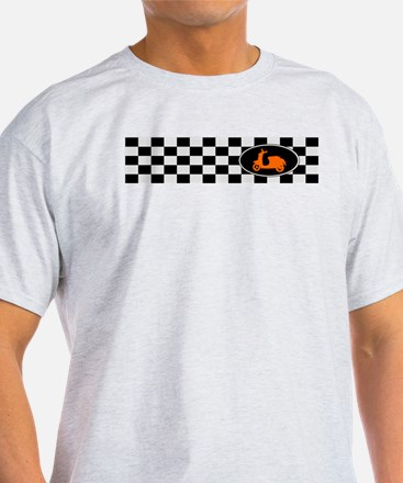 Checkerboard Scoot T-Shirt