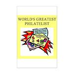 philatelist gifts t-shirts Mini Poster Print