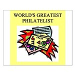 philatelist gifts t-shirts Small Poster