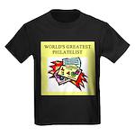 philatelist gifts t-shirts Kids Dark T-Shirt