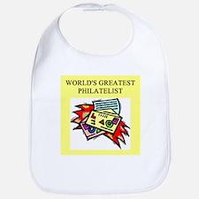 philatelist gifts t-shirts Bib