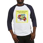 philatelist gifts t-shirts Baseball Jersey