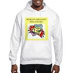 philatelist gifts t-shirts Hooded Sweatshirt