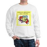 philatelist gifts t-shirts Sweatshirt