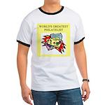 philatelist gifts t-shirts Ringer T
