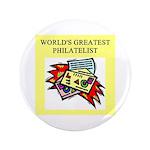 "philatelist gifts t-shirts 3.5"" Button"