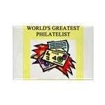 philatelist gifts t-shirts Rectangle Magnet