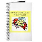 philatelist gifts t-shirts Journal