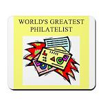 philatelist gifts t-shirts Mousepad