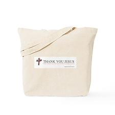 Cute Thank you jesus Tote Bag