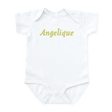 Angelique in Gold - Infant Bodysuit