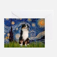 Starry Aussie (#2) Greeting Cards (Pk of 10)