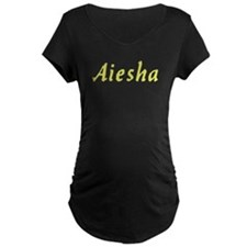 Aiesha in Gold - T-Shirt