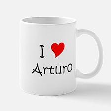 Cute I heart arturo Mug