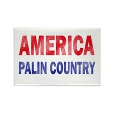 AMERICA - PALIN COUNTRY Rectangle Magnet