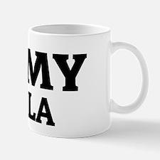 I Love My Vizsla Mug