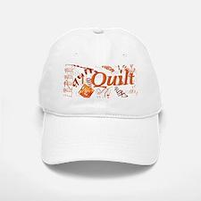 Quilt Pumpkin Baseball Baseball Cap