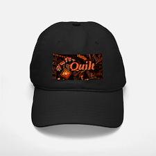 Quilt Pumpkin Baseball Hat