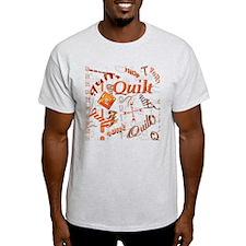 Quilt Pumpkin T-Shirt