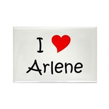 Cool Arlene Rectangle Magnet