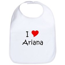 Cute Ariana Bib