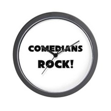 Comedians ROCK Wall Clock