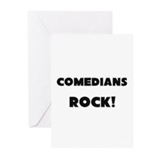 Comedians ROCK Greeting Cards (Pk of 10)