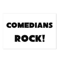 Comedians ROCK Postcards (Package of 8)