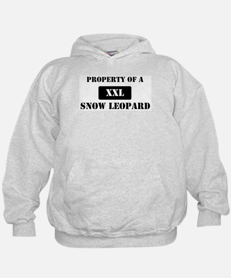 Property of a Snow Leopard Hoodie