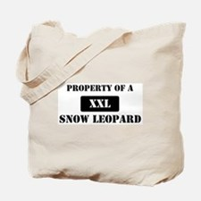 Property of a Snow Leopard Tote Bag