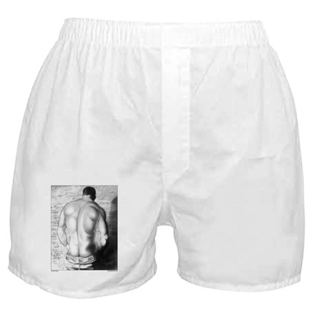 A Hard Place Boxer Shorts